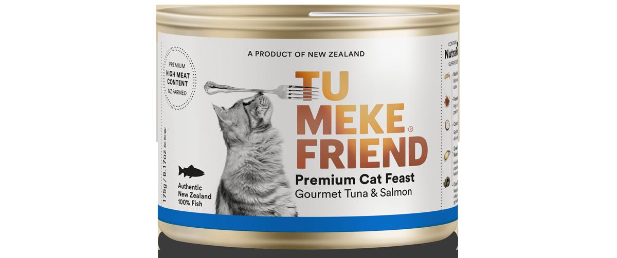 9367 Tu Meke Friend Can 175g Cat Front Tuna