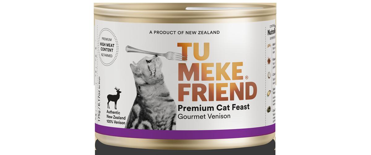 9367 Tu Meke Friend Can 175g Cat Front Venison
