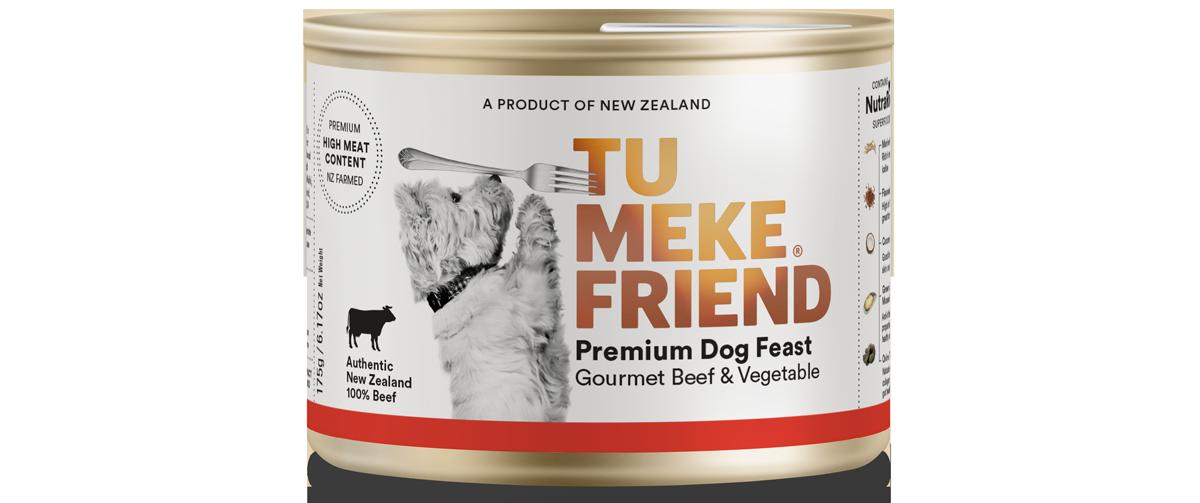 Gourmet Beef & Vegetable - Wet Dog Food