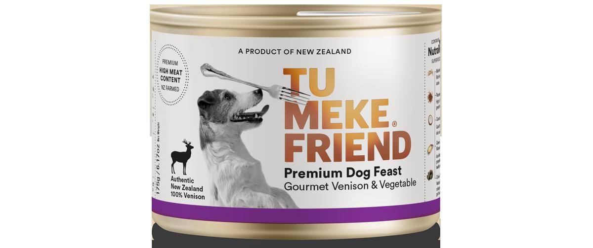 9367 Tu Meke Friend Can 175g Dog Front Venison