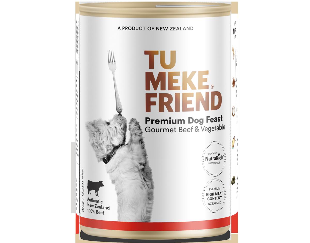 9367 Tu Meke Friend Can 375g Dog Front Beef