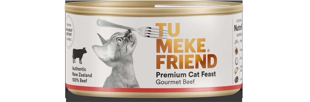 Gourmet Beef - Wet Cat Food