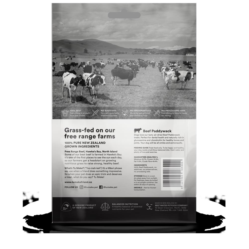 9608 Tu Meke Friend Treats Medium Pouch Render Back Beef Paddywack