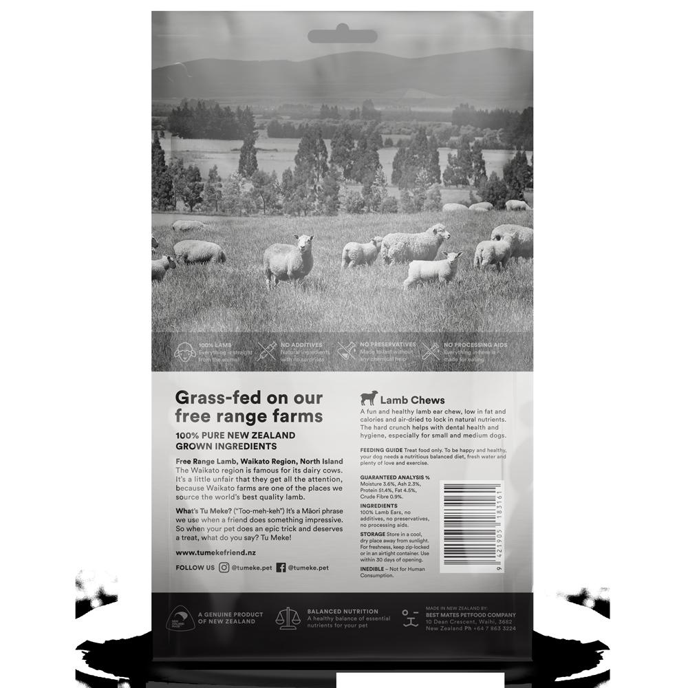9608 Tu Meke Friend Treats X Large Pouch Render Back Lamb Chews