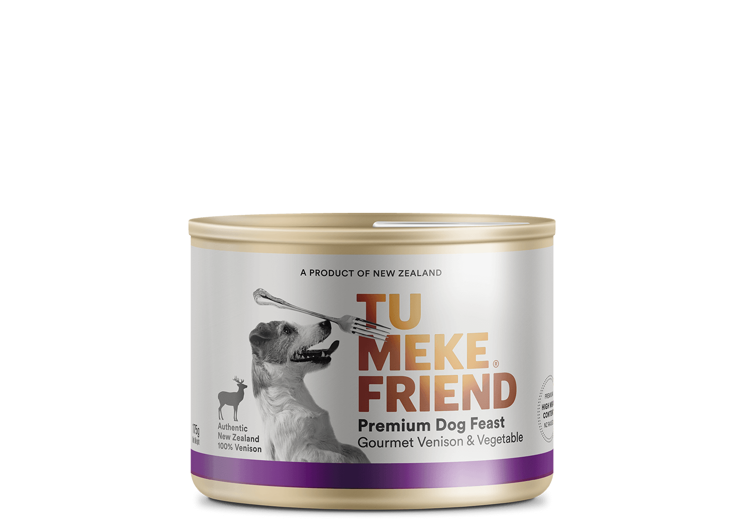 Tu Meke Product Page 175g Can Gourmet Vension and Vege Buffer Top 2